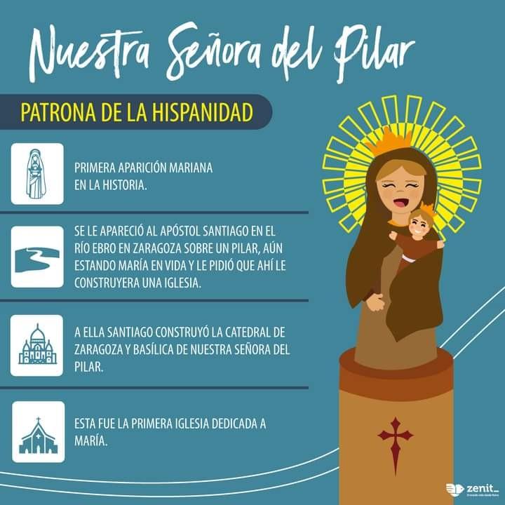 Nuestra Señora del Pilar Patrona de la Hispanidad