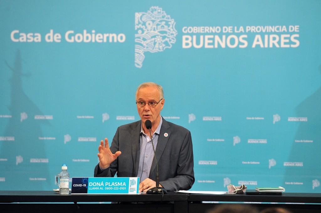 Bianco y Gollan presentaron las cifras de la situación epidemiológica y del esquema de fases en la Provincia