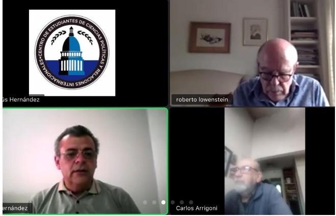 Roses participó de una charla impulsada por la Unión Industrial de la Provincia de Buenos Aires
