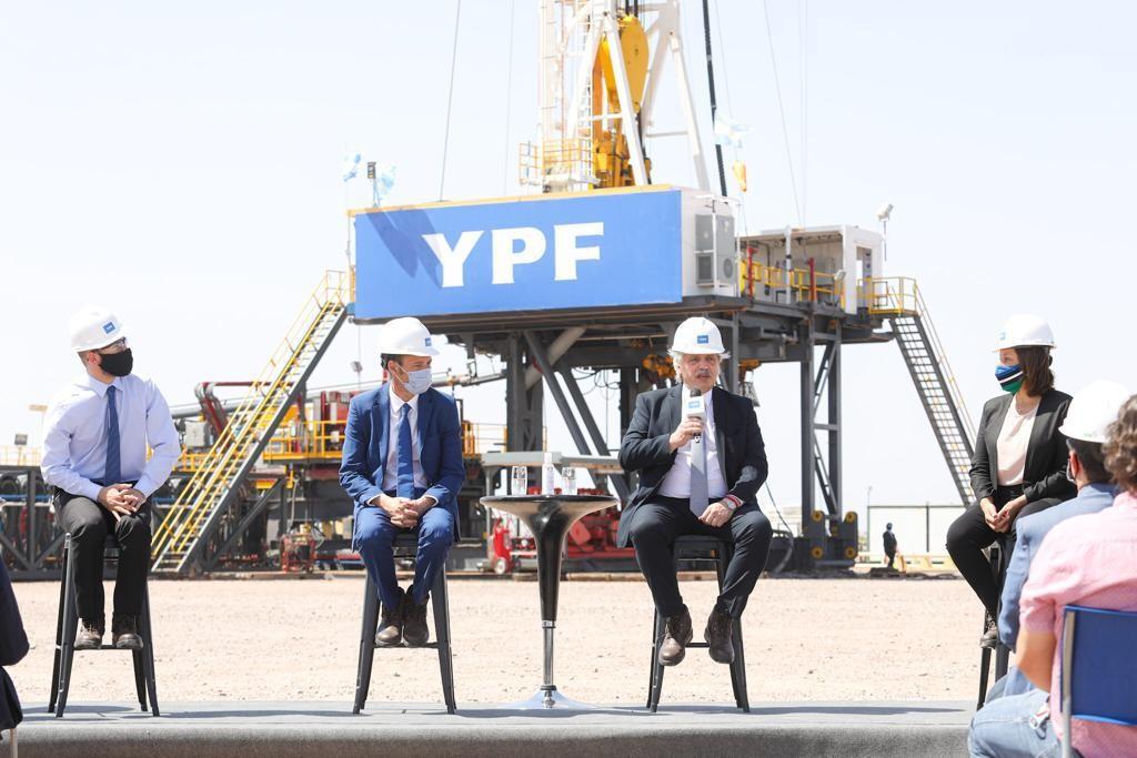 Plan de Promoción de la Producción de Gas Argentino : Alberto Fernández presentó el Plan Gas desde Vaca Muerta