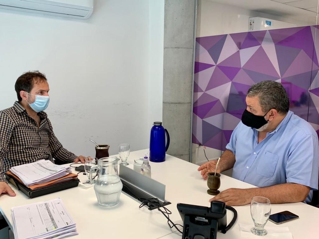 Importante reunión entre el Intendente y el subsecretario de Asistencia Crítica de la Nación