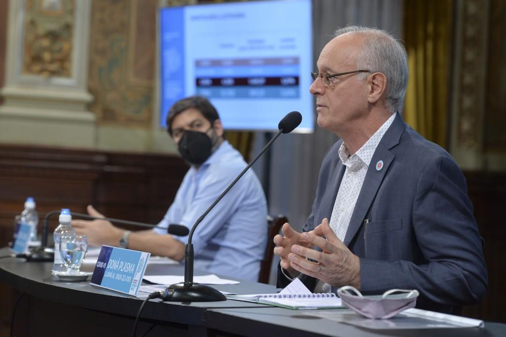 Bianco y Gollan realizaron la conferencia de prensa sobre la situación epidemiológica y el esquema de fases en la Provincia