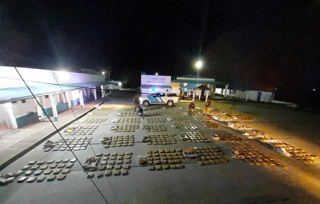 Ministerio de Seguridad de la Nación: la Prefectura secuestró más de una tonelada de marihuana