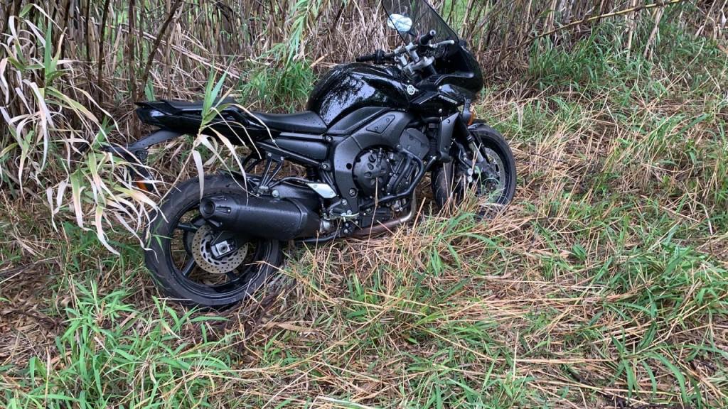 Funcionario municipal y empleado de Tenaris encuentran una moto de alta cilindrada que había sido robada