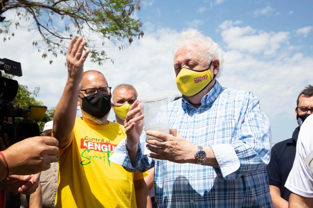 Ginés González García lanzó la campaña nacional contra el dengue en Misiones