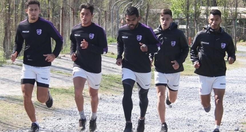 Villa Dálmine finalizó una nueva semana de entrenamientos