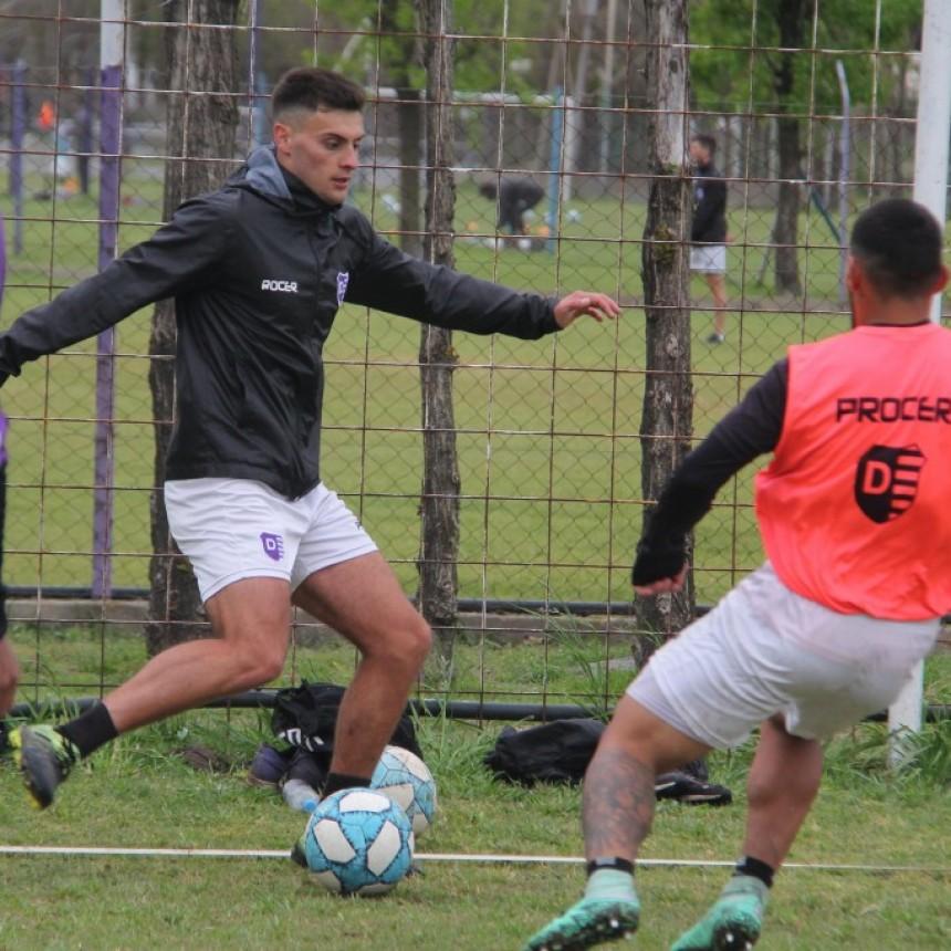 Villa Dálmine comenzó una nueva semana de entrenamientos