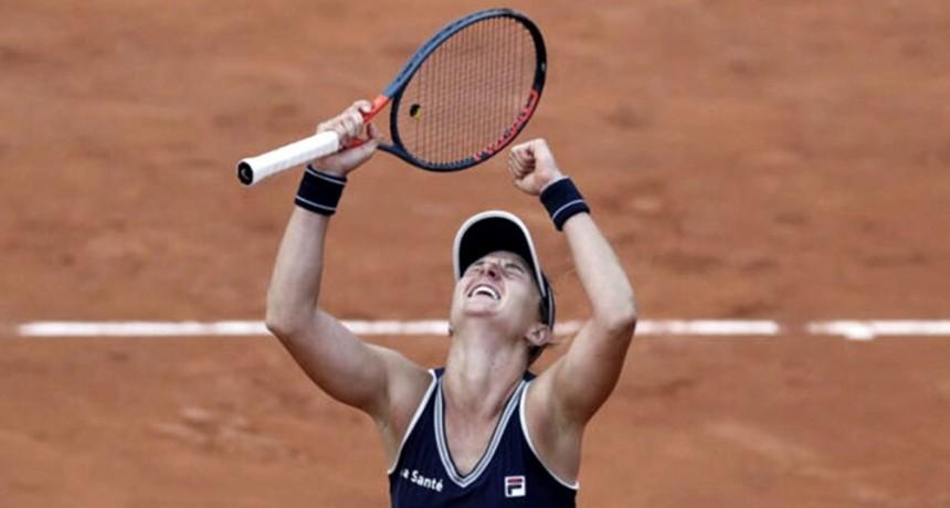 Nadia Podoroska es semifinalista en Roland Garros