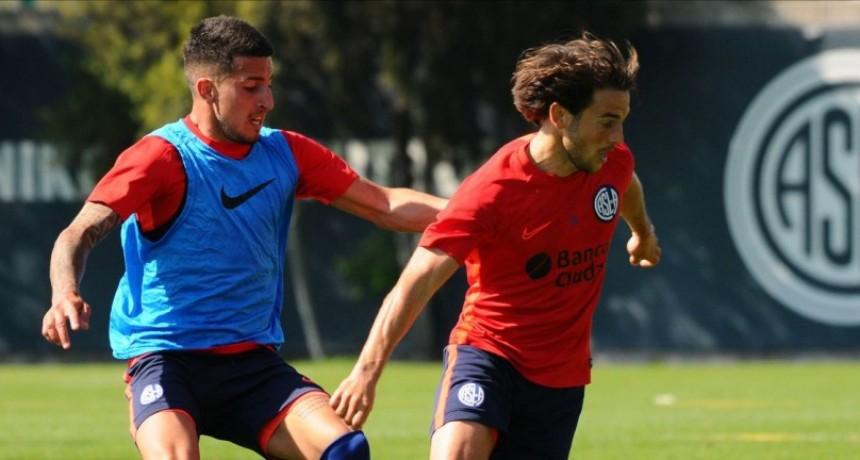 San Lorenzo de Almagro volvió a entrenarse en la Ciudad Deportiva