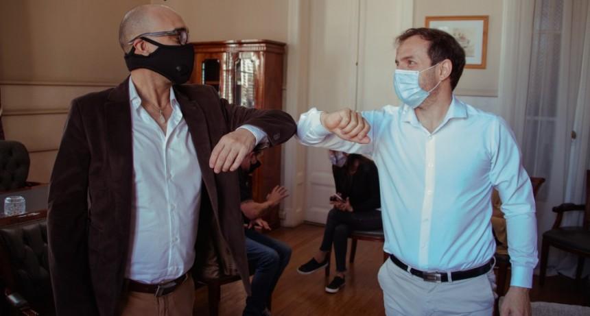 El Intendente designó a Hernán Casanova como nuevo director de Cultura