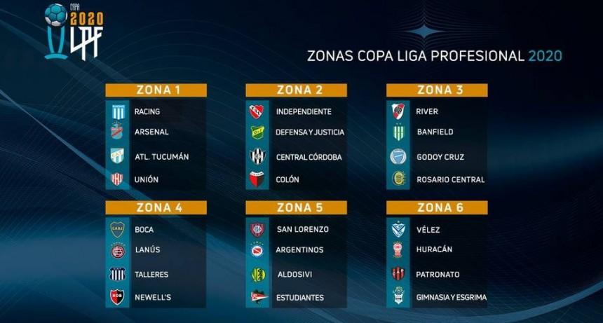 Fixture definido de la Liga Profesional de FUTBOL