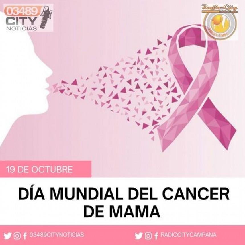 19 de Octubre : DIA DE LA LUCHA CONTRA EL CANCER DE MAMA
