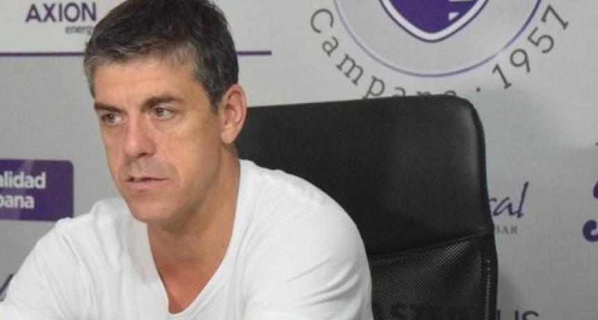 Felipe De La Riva :  es una falta de respeto que todavia no sepamos que Torneo vamos a disputar