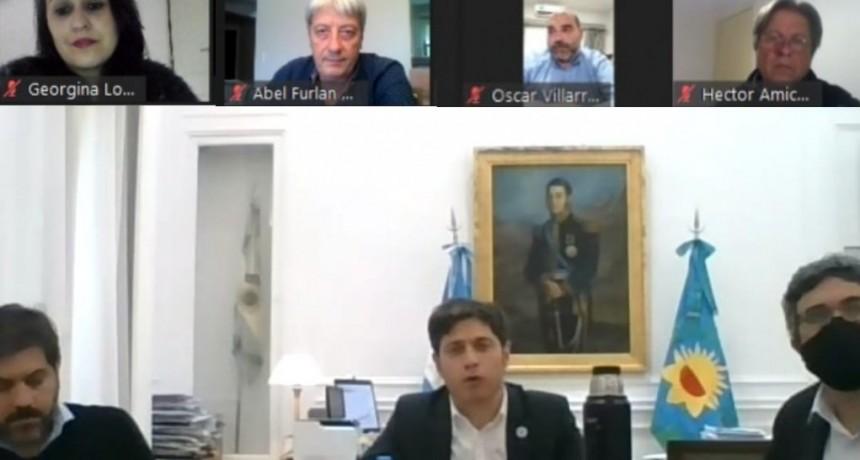 Kicillof encabezó la reunión del espacio  de Producción y Trabajo