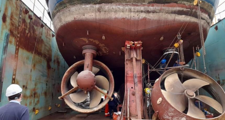 El secretario de Desarrollo Económico del Municipio recorrió las instalaciones de SPI Astilleros en Campana