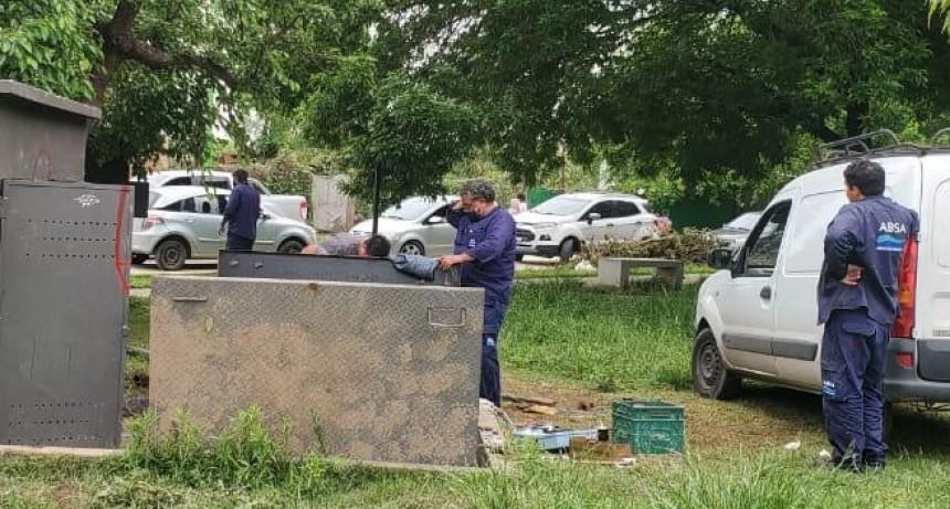 ABSA, con el apoyo del Municipio, soluciona el inconveniente de agua potable en Otamendi