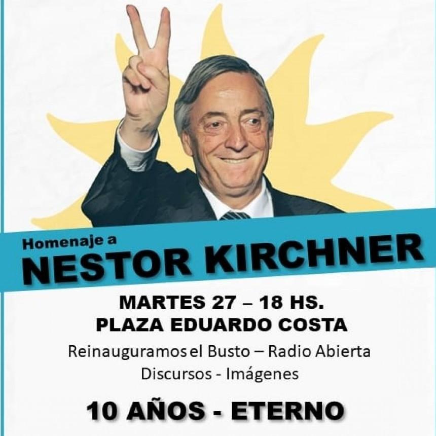 Hoy se realiza el acto por el 10° aniversario  de la muerte de Néstor Kirchner