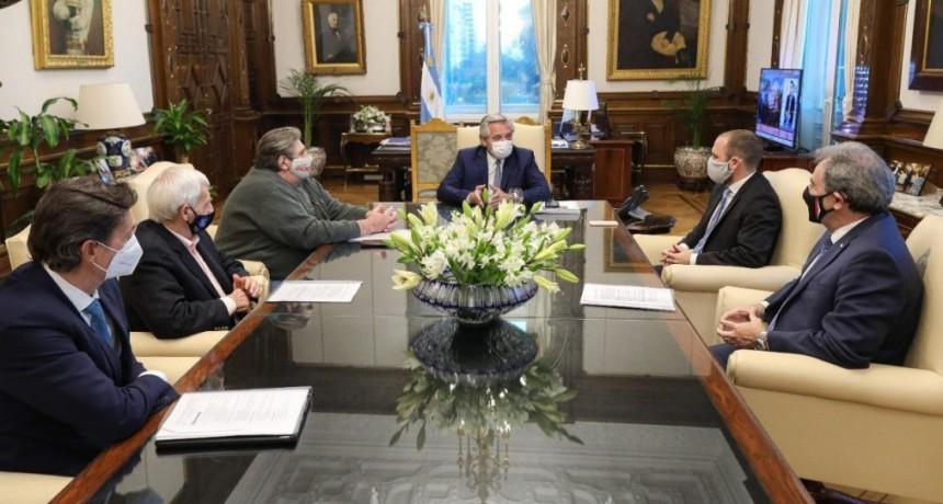 Alberto Fernández se reunió con integrantes de la mesa automotriz