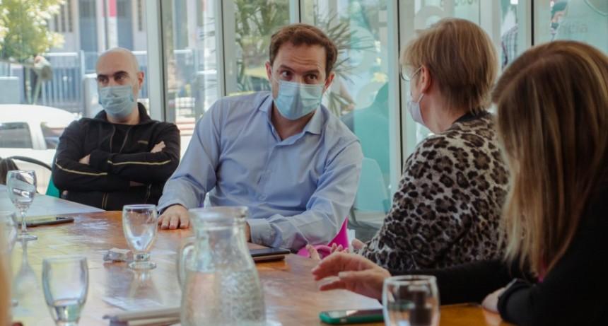 El Intendente se reunió con el equipo de salud para seguir de cerca el desarrollo de la pandemia en la ciudad