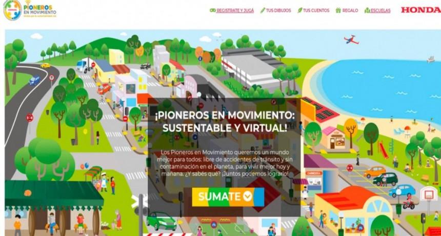 HONDA MOTOR DE ARGENTINA PONE EN MARCHA SUS PROGRAMA EDUCATIVO PIONEROS EN MOVIMIENTO