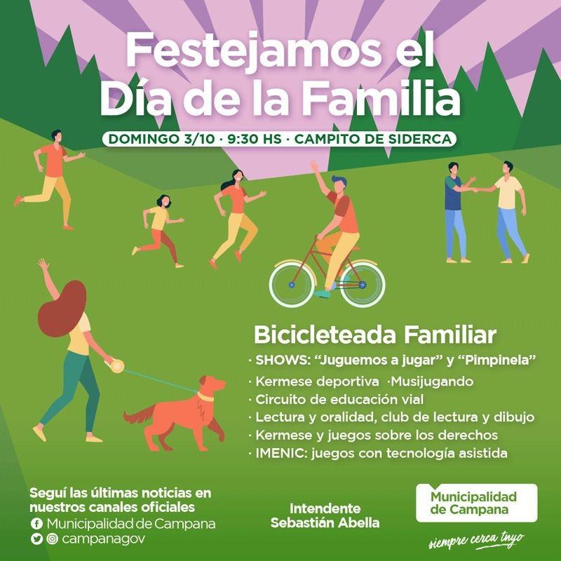 Este domingo en el Campito se celebra el Día de la Familia