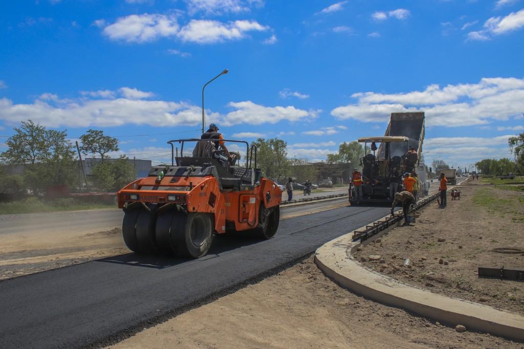 Ampliación de la avenida Rivadavia: ya comenzaron las obras de asfalto