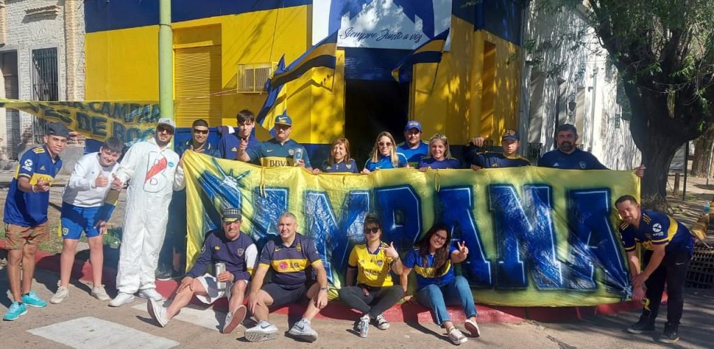 La Peña Campana es de Boca vivió el superclásico en el Club Alumni