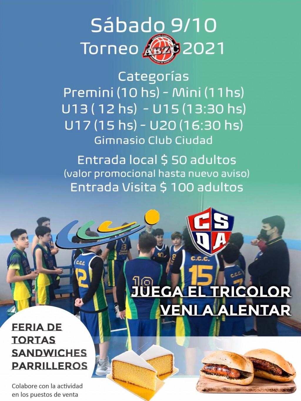 El Club Ciudad juega la tira de formativas como local