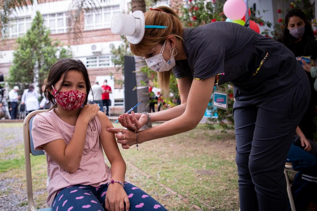 Comenzó la inmunización de menores de entre 3 y 11 años en la Provincia