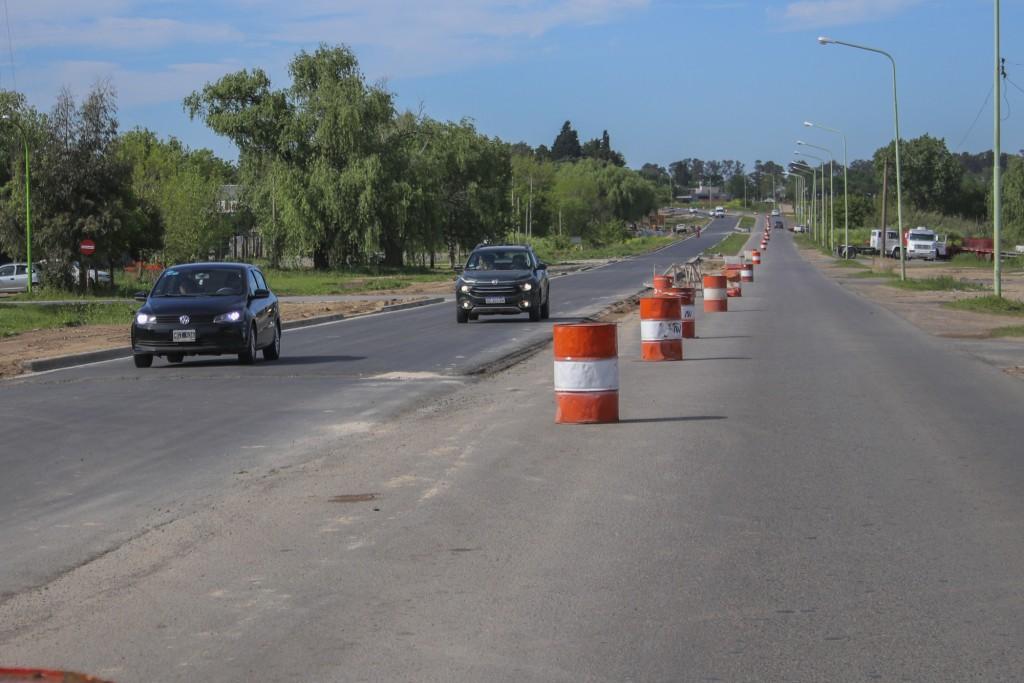 Ampliación de la avenida Rivadavia: habilitan al tránsito el nuevo carril