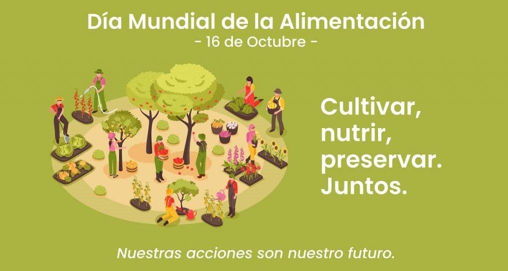 16 de octubre : Día Mundial de la Alimentación