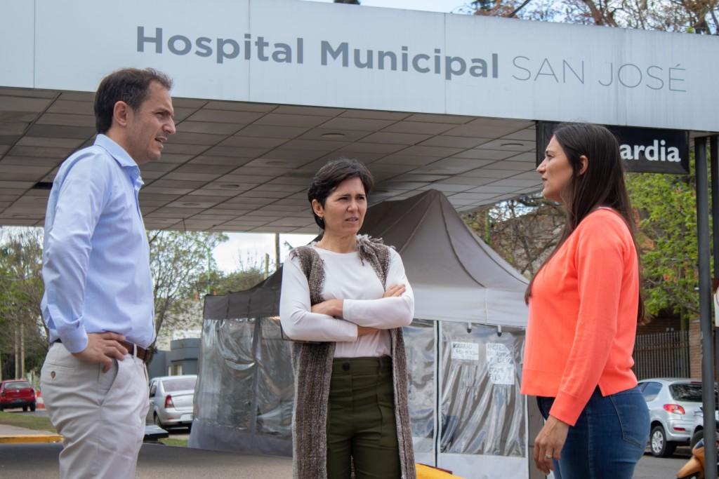 Por primera vez desde que empezó la pandemia, el hospital San José no tiene internados por Covid-19