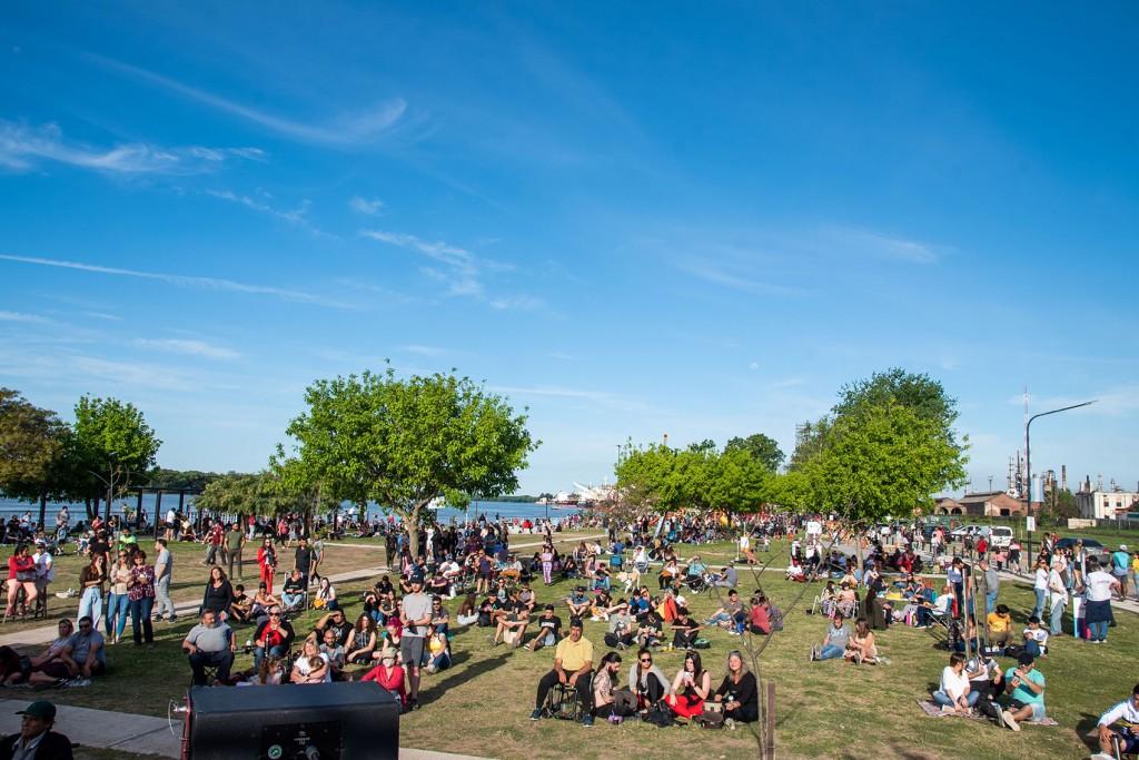 Más de 20 mil personas disfrutaron de la nueva Costanera este fin de semana