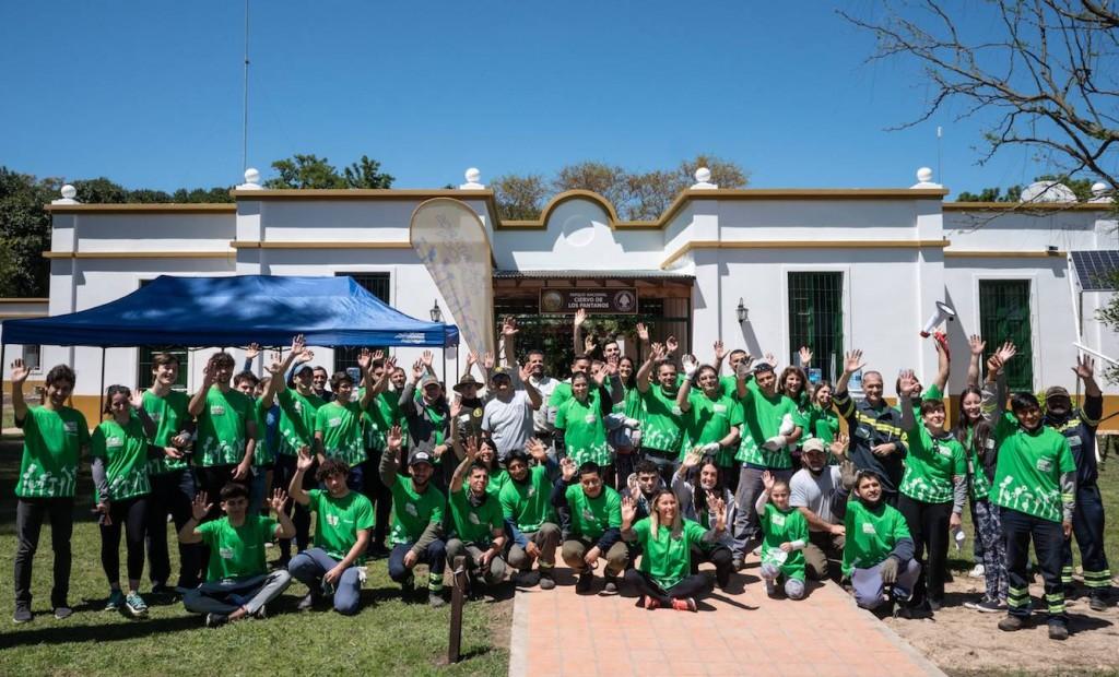 """Más de 90 participantes tuvo el voluntariado de Tenaris en el Parque Nacional """"Ciervo de los Pantanos"""""""