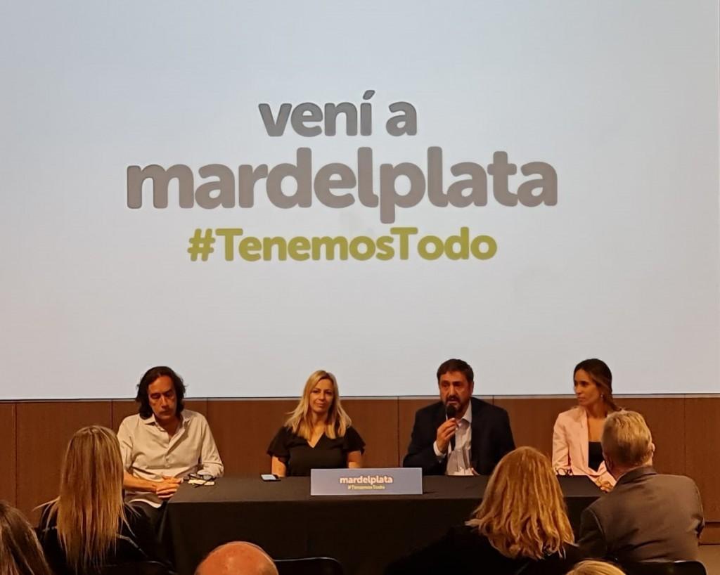 Temporada 21/22 Mar del Plata promocionó su oferta turística en CABA