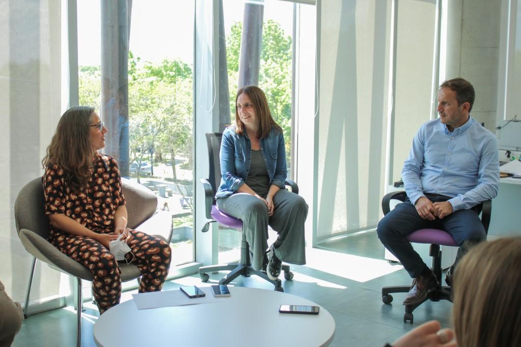 Abella destacó el trabajo del equipo de Planeamiento que está concretando la obra de la nueva Costanera