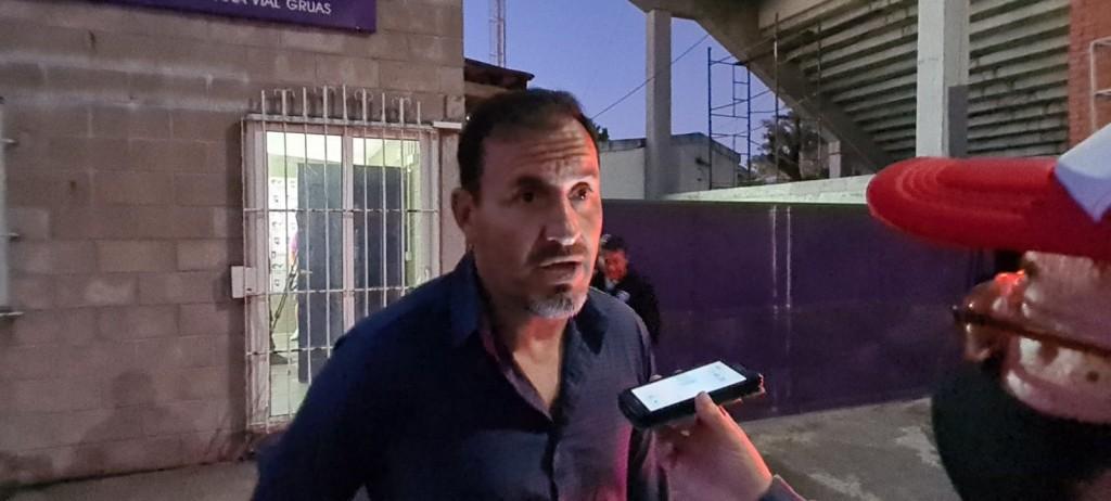 Marcelo Franchini :  el equipo realizó lo planificado en un juego complicado