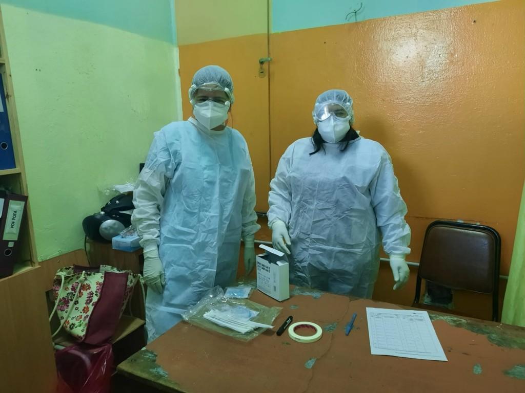 Avanzan los testeos en escuelas de la Ciudad  por parte del Ministerio de Salud