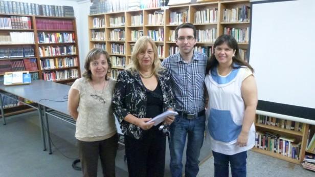 La Biblioteca Municipal y Alumnos de la ESB N° 5 recordaron a Adolfo Bioy Casares