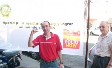 FUNDACION ROTARY CLUB CAMPANA 24 DE OCTUBRE DIA INTERNACIONAL POR LA LUCHA CONTRA LA ERRADICACION DE LA POLIOMELITIS