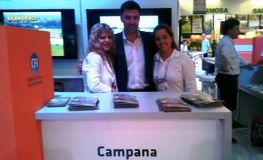 Campana participó una vez más de la Feria Internacional de Turismo para América Latina