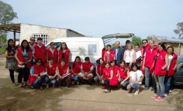 El Municipio junto a la ANSES realizan un relevamiento para asistir a familias afectadas por la inundación