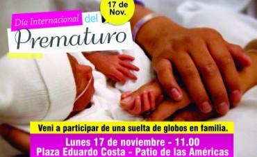 El concejal Abella junto a madres de la Red de Familias de Unicef presentaron un proyecto sobre los nacimientos prematuros