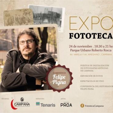 EN CONFERENCIA DE PRENSA SE PRESENTÒ EXPO FOTOTECA