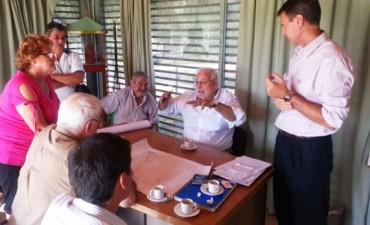 El Municipio y AUSOL mantuvieron reuniones por obras de mejora hidráulica en la zona de Río Luján