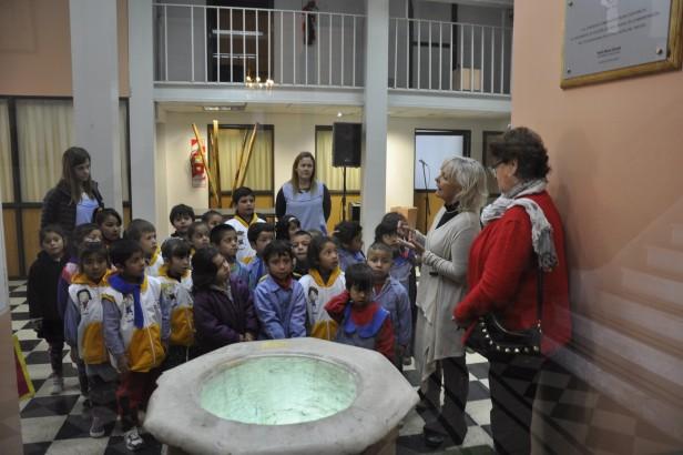 """Alumnos de la ciudad participan del Programa """"Vivo y Conozco Campana"""""""