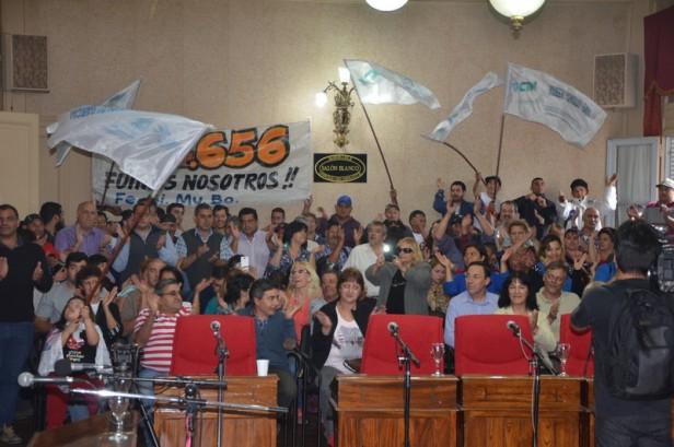 Se aprobó la nueva Convención Colectiva de los municipales en una sesión extraordinaria en el HCD.
