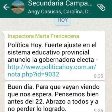 """""""El kirchnerismo local intenta generar miedo a los docentes y estudiantes"""", denunciaron desde Cambiemos"""