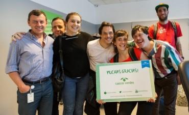 Grupo Newsan reafirma su compromiso con el medioambiente La compañía organizó una plantación de árboles junto a las ONG's Cascos Verdes y Plantarse