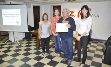 Integrantes de Programas Municipales de Medioambiente recibieron sus Certificados